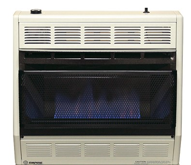 30,000 BTUs Blue Flame Heater w/Modulating Hydraulic Thermostat