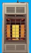 6,000 BTUS Infrared Vent-Free Heater w/Manual Thermostat