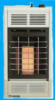 10,000 BTUs Infrared Vent-Free Heater