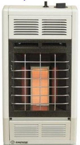 Empire Infra Red Propane Heater with Thermostat